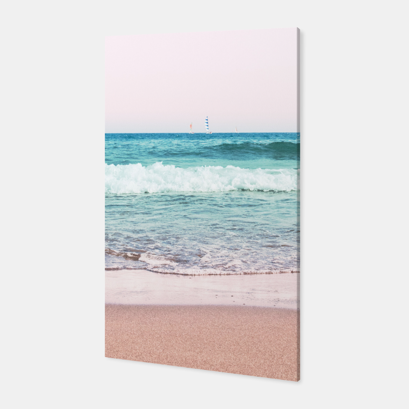Zdjęcie Pastel Ocean Dream #1 #wall #decor #art Canvas - Live Heroes
