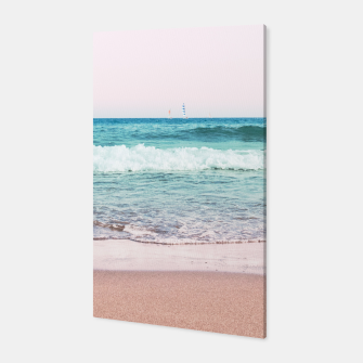 Pastel Ocean Dream #1 #wall #decor #art Canvas obraz miniatury