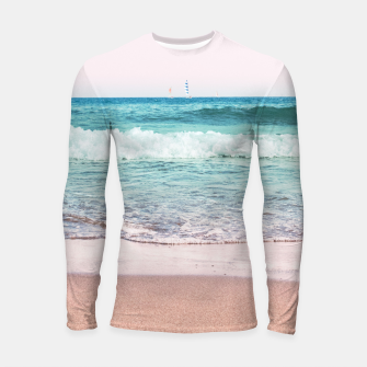 Pastel Ocean Dream #1 #wall #decor #art Longsleeve rashguard obraz miniatury