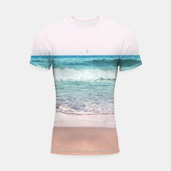 Pastel Ocean Dream #1 #wall #decor #art Shortsleeve rashguard obraz miniatury