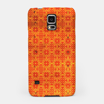 Thumbnail image of Oriental Orange Traditional Moroccan Style  Samsung Case, Live Heroes