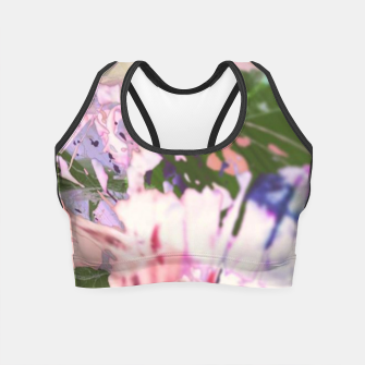Thumbnail image of springtune Crop Top, Live Heroes