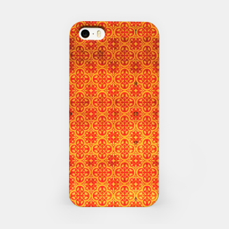 Thumbnail image of Oriental Orange Traditional Moroccan Style  iPhone Case, Live Heroes
