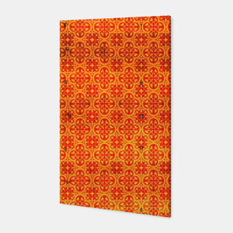 Thumbnail image of Oriental Orange Traditional Moroccan Style  Canvas, Live Heroes