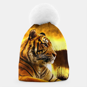 Miniatur Tiger and Sunset Beanie, Live Heroes