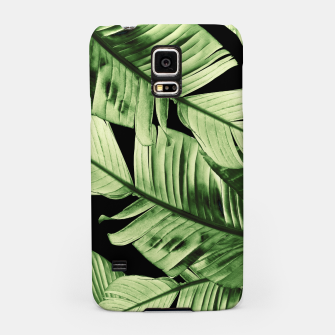 Thumbnail image of Tropical Banana Night Leaves Dream #1 #tropical #decor #art Handyhülle für Samsung, Live Heroes