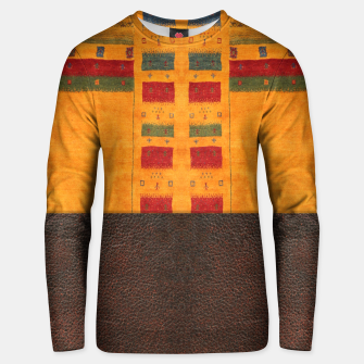 Thumbnail image of Heritage Traditional Leather Moroccan Boho Style  Unisex sweater, Live Heroes