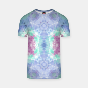 Thumbnail image of Diamante rose and ligth blue T-shirt, Live Heroes