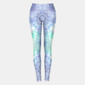 Thumbnail image of Diamante rose and ligth blue Leggings, Live Heroes