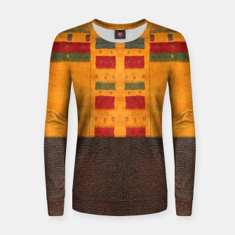 Thumbnail image of Heritage Traditional Leather Moroccan Boho Style  Women sweater, Live Heroes