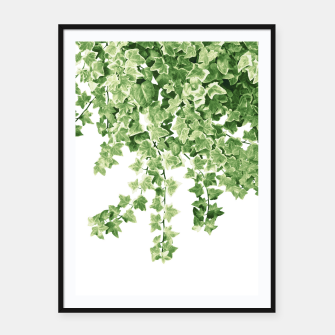 Thumbnail image of Ivy Delight #2 #wall #decor #art  Plakat mit rahmen, Live Heroes