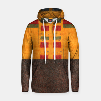 Thumbnail image of Heritage Traditional Leather Moroccan Boho Style  Hoodie, Live Heroes