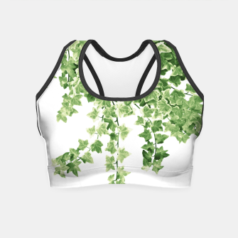 Miniatur Ivy Delight #2 #wall #decor #art  Crop Top, Live Heroes