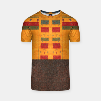 Miniatur Heritage Traditional Leather Moroccan Boho Style  T-shirt, Live Heroes