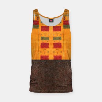 Thumbnail image of Heritage Traditional Leather Moroccan Boho Style  Tank Top, Live Heroes