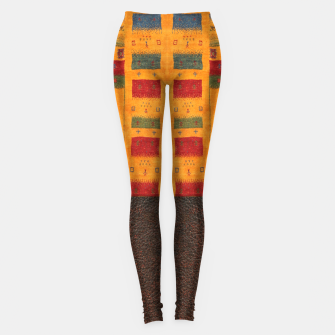 Thumbnail image of Heritage Traditional Leather Moroccan Boho Style  Leggings, Live Heroes