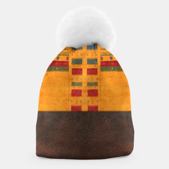 Thumbnail image of Heritage Traditional Leather Moroccan Boho Style  Beanie, Live Heroes