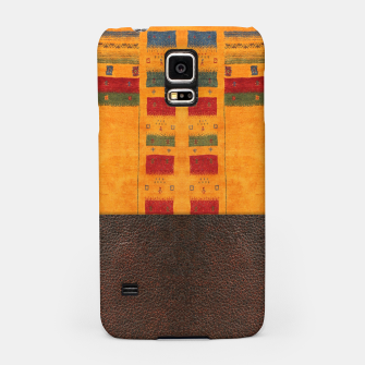 Miniatur Heritage Traditional Leather Moroccan Boho Style  Samsung Case, Live Heroes