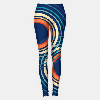 Miniature de image de Rainbow Arch Minimal Abstract #4 #decor #art Leggings, Live Heroes