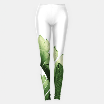 Miniature de image de Green Banana Leaves Dream #6 #tropical #decor #art  Leggings, Live Heroes