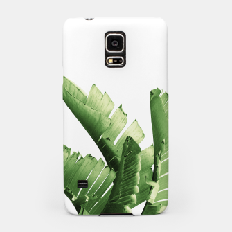 Thumbnail image of Green Banana Leaves Dream #6 #tropical #decor #art  Handyhülle für Samsung, Live Heroes