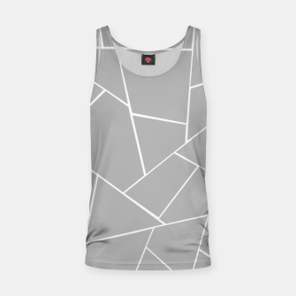 Miniature de image de Gray White Geometric Glam #1 #geo #decor #art  Muskelshirt , Live Heroes