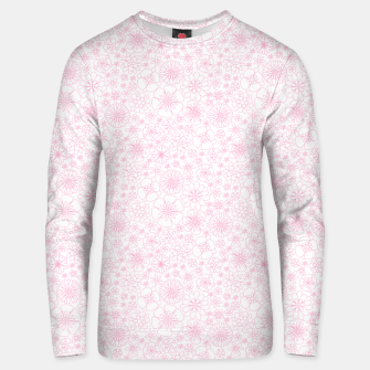 Thumbnail image of Wild Flowers - floral pattern pink Unisex sweater, Live Heroes