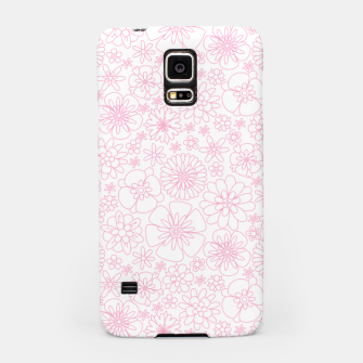 Thumbnail image of Wild Flowers - floral pattern pink Samsung Case, Live Heroes