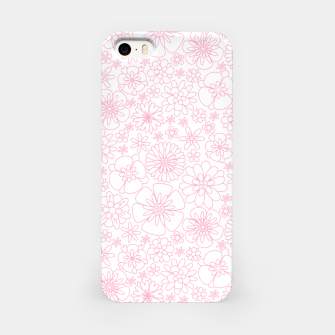 Thumbnail image of Wild Flowers - floral pattern pink iPhone Case, Live Heroes