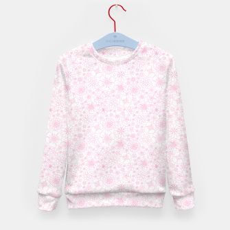 Thumbnail image of Wild Flowers - floral pattern pink Kid's sweater, Live Heroes