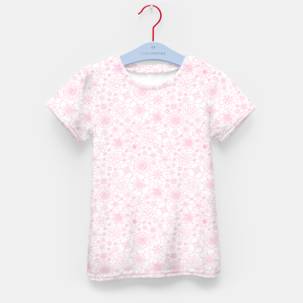 Thumbnail image of Wild Flowers - floral pattern pink Kid's t-shirt, Live Heroes