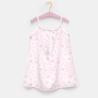 Thumbnail image of Wild Flowers - floral pattern pink Girl's dress, Live Heroes