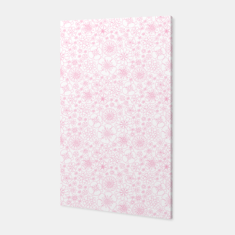 Thumbnail image of Wild Flowers - floral pattern pink Canvas, Live Heroes