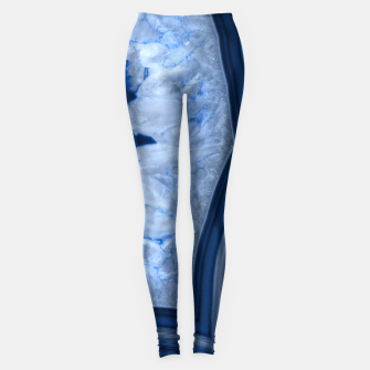 Miniature de image de Agate Chic #1 #gem #decor #art  Leggings, Live Heroes