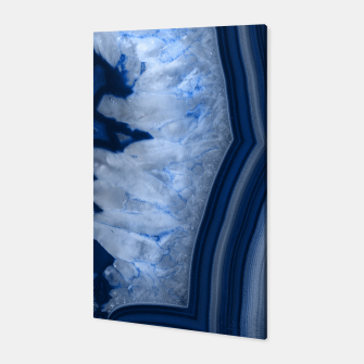Thumbnail image of Agate Chic #1 #gem #decor #art  Canvas, Live Heroes