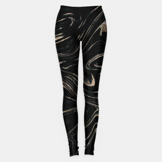 Miniature de image de Liquid Gold Glitter Marble #1 (Faux Glitter) #decor #art  Leggings, Live Heroes