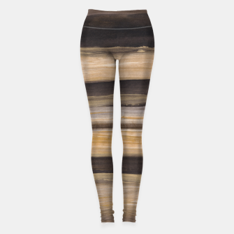 Thumbnail image of Abstract Minimalism Brushstrokes #2 #minimal #ink #decor #art Leggings, Live Heroes