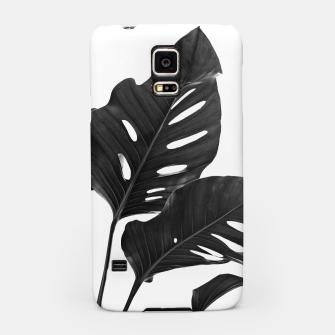 Thumbnail image of Monstera Black & White Vibes #1 #minimal #decor #art Handyhülle für Samsung, Live Heroes