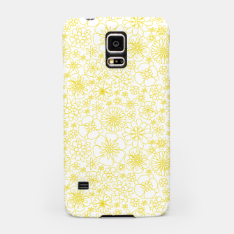 Thumbnail image of Wild Flowers - floral pattern yellow Samsung Case, Live Heroes