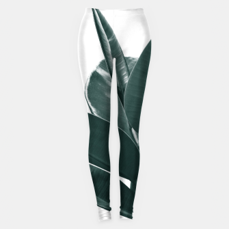 Miniature de image de Ficus Delight #1 #tropical #decor #art Leggings, Live Heroes