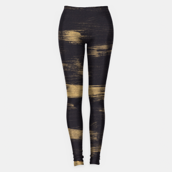 Miniature de image de Brushstrokes Abstract Minimalism #3 #minimal #decor #art Leggings, Live Heroes
