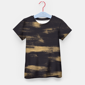 Thumbnail image of Brushstrokes Abstract Minimalism #3 #minimal #decor #art T-Shirt für kinder, Live Heroes