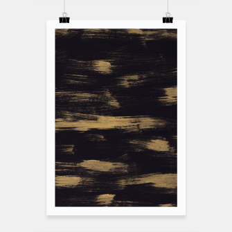 Thumbnail image of Brushstrokes Abstract Minimalism #3 #minimal #decor #art Plakat, Live Heroes
