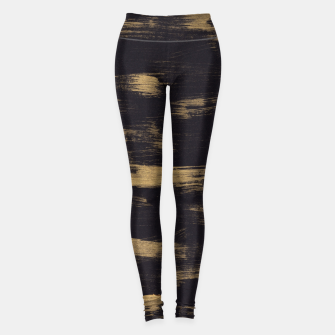 Thumbnail image of Brushstrokes Abstract Minimalism #3 #minimal #decor #art Leggings, Live Heroes