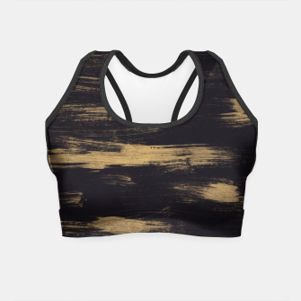 Thumbnail image of Brushstrokes Abstract Minimalism #3 #minimal #decor #art Crop Top, Live Heroes