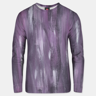 Thumbnail image of Touching Purple Black White Watercolor Abstract #1 #painting #decor #art Unisex sweatshirt, Live Heroes