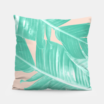 Miniature de image de Tropical Summer Banana Leaves Dream #1 #decor #art  Kissen, Live Heroes