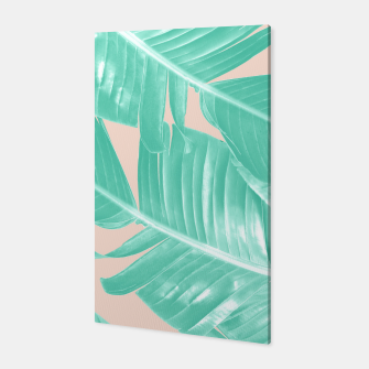 Miniature de image de Tropical Summer Banana Leaves Dream #1 #decor #art  Canvas, Live Heroes