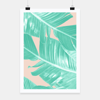 Miniature de image de Tropical Summer Banana Leaves Dream #1 #decor #art  Plakat, Live Heroes