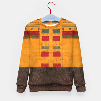 Thumbnail image of Heritage Traditional Leather Moroccan Boho Style  Kid's sweater, Live Heroes